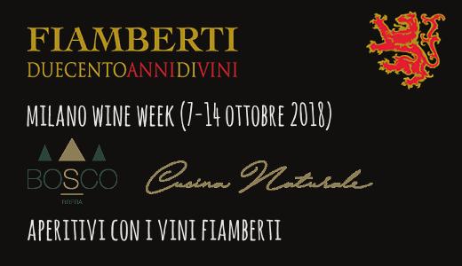 Aperitivi Fiambert al Bosco Brera (Milano Wine Week)