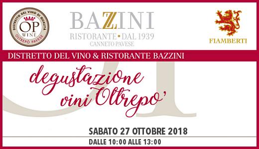 Degustazione da Bazzini (27 ottobre 2018)
