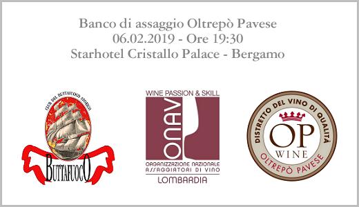 Banco di assaggio OP (Bergamo, 06/02/2019) - Locandina