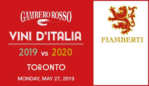 Gambero Rosso World Tour Toronto 2019