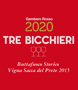 Gambero Rosso Tre Bicchieri 2020 - Buttafuoco Storico Vigna Sacca del Prete 2015