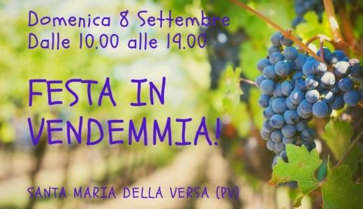 Festa in vendemmia (Santa Maria della Versa, 08/09/2019)
