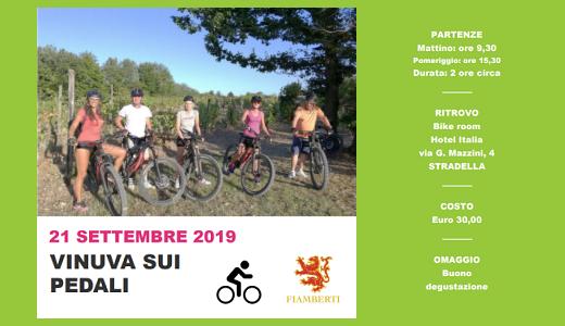 Vinuva sui pedali (21/09/2019)