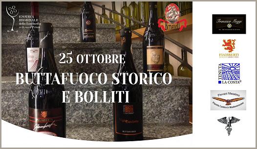 Bolliti e Buttafuoco Storico (Enoteca Regionale della Lombardia, 25/10/2019)