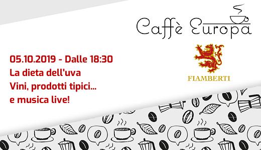 Aperitivo al Caffè Europa (Pavia, 05/10/2019)