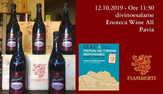 Degustazione all'enoteca Wine All (Pavia, 12/10/2019)