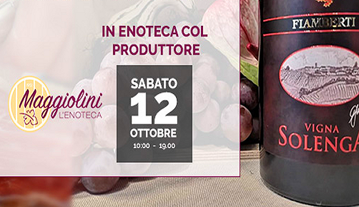 Degustazione all'enoteca Maggiolini (Bareggio, 12/10/2019)