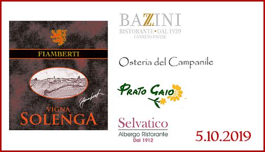Anteprima Vigna Solenga 2015 in Oltrepò Pavese (5/10/2019)