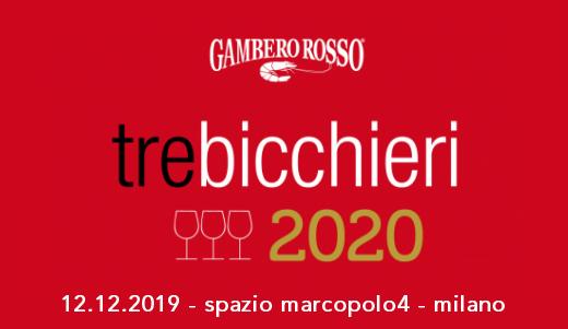 Degustazione Tre Bicchieri 2020 (Milano, 12/12/2019)