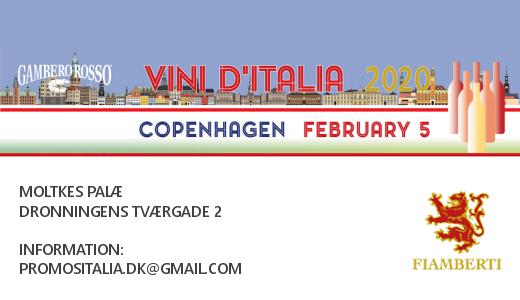 Vini d'Italia World Tour 2020 (Copenhagen, 05/02/2020)