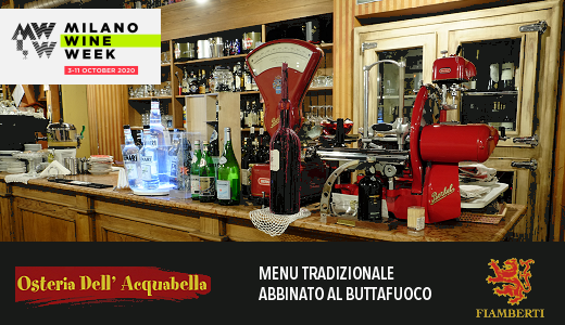 Osteria dell'Acquabella - Milano Wine Week 2020