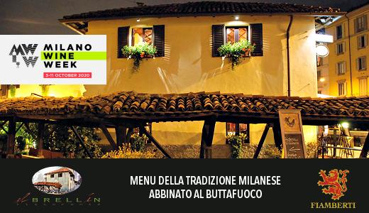 Ristorante El Brellin - Milano Wine Week 2020