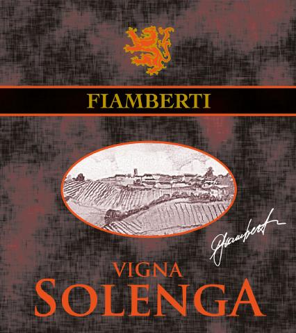 Vigna Solenga - Etichetta