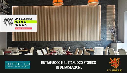 Ristorante Wafu - Milano Wine Week 2020