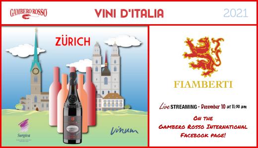Tour Vini d'Italia del Gambero Rosso 2021 (10/12/2020)