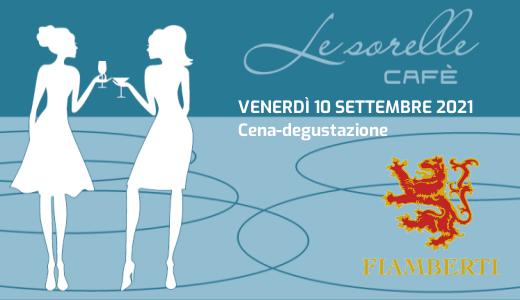 Cena-degustazione Le Sorelle Café (10/09/2021)