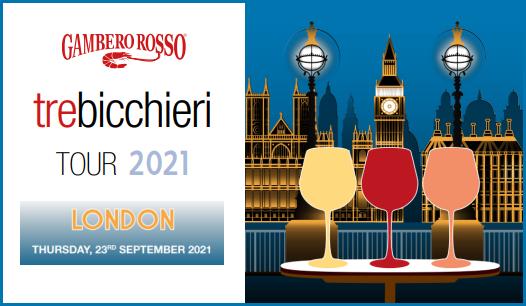 Tre Bicchieri World Tour - Londra (23/09/2021)