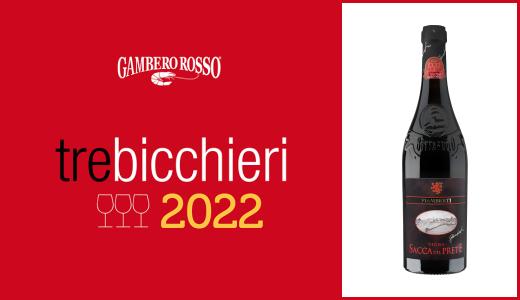Gambero Rosso 2022 -Tre Bicchieri - Buttafuoco Storico Vigna Sacca del Prete 2017